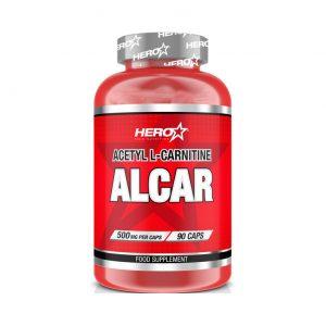 HERO TECH ALCAR (Acetil L-carnitina) 90caps