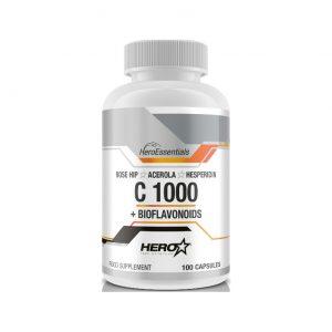 HERO TECH C1000+BIOFLAVONOIDS 100 caps