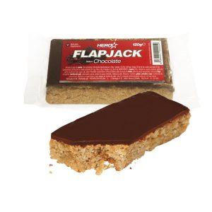 HERO TECH FLAPJACK 120g - 30 bar caja chocolate