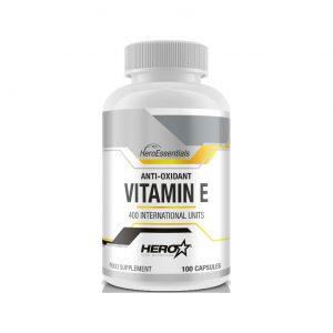 HERO TECH Vitamin E 100 caps