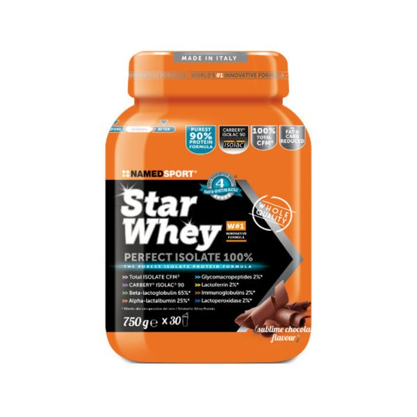 NAMEDSPORT STAR WHEY ISOLATE Sublime Chocolate - 750g_ONLYONEZONE
