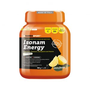 NAMEDSPORT ISONAM ENERGY limon - 480g