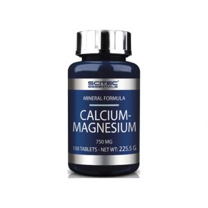 SCITEC NUTRITION Calcium - Magnesium 100 comprimidos