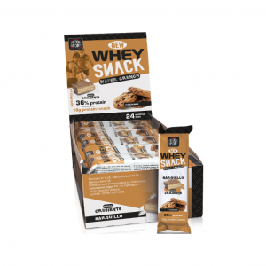 TEGOR SPORT Whey Snack Wafer Crunch - Barrita Proteica cookie