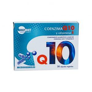 WAY DIET Co Q10 + Vit E - 30 cápsulas