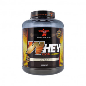 M DOUBLE YOU 100% WHEY PROTEIN 2250gr - OnlyOneZone