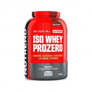NUTREND ISO WHEY PROZERO 2250gr - OnlyOneZone