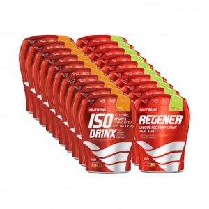 Pack 10 Regener y 10 Isodrinx de Nutrend - OnlyOneZone